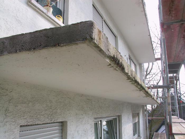 Balkon Und Terrassensanierung Holler Bausanierung Frankfurt Und